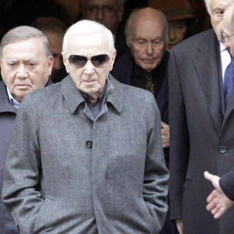 Jean-Marc Thibault et Charles Aznavour ont dit adieu à Rosy Varte
