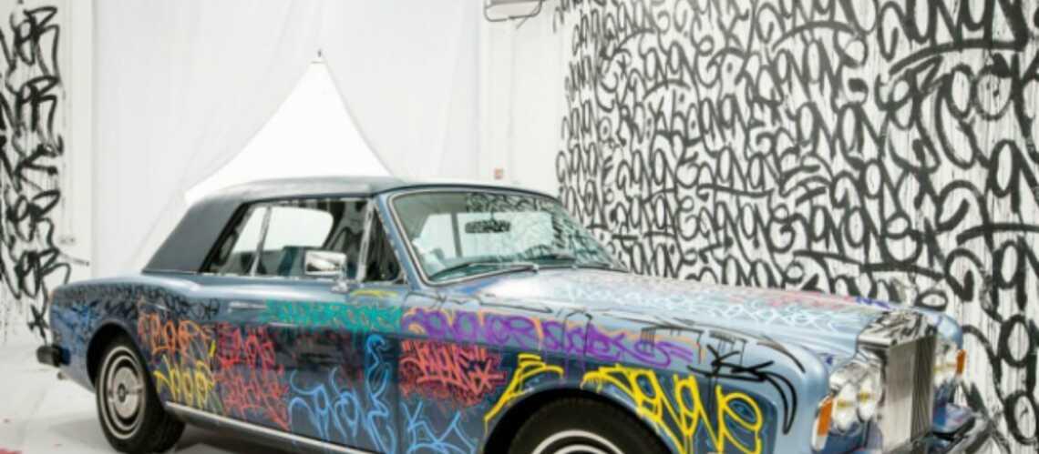 Eric Cantona vend sa Rolls graffée