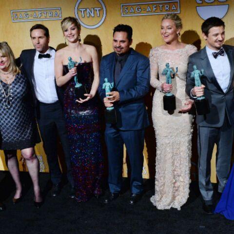 Photos – Jennifer Lawrence, Bradley Cooper et Amy Adams: prochaine étape, les Oscars!
