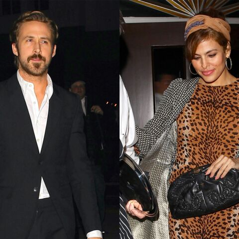 Eva Mendes et Ryan Gosling: une soirée pour s'aimer