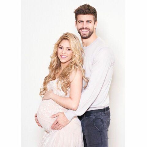 Shakira et Gerard Piqué présentent Sasha