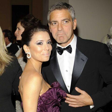 George Clooney: Eva Longoria lui a mis un râteau