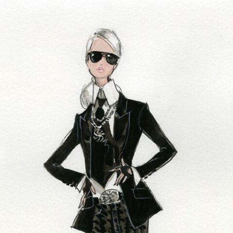 A quoi ressemblera la Barbie Karl Lagerfeld?