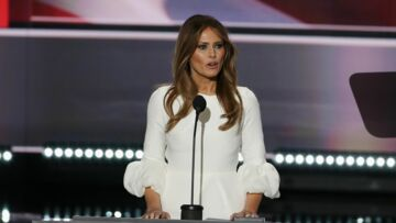 Melania Trump: sa robe en rupture de stock