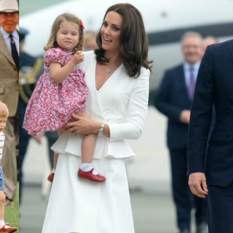 PHOTO – Kate Middleton s'inspire de Lady Di et donne à la princesse Charlotte les chaussures rouges du prince Harry