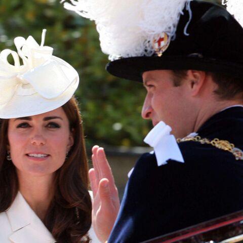 Photos- Kate et William, plume et élégance pour la cérémonie de la Jarretière
