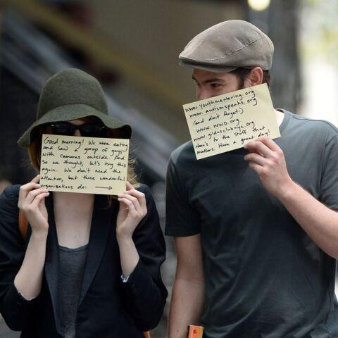 Emma Stone et Andrew Garfield dans la toile des paparazzis