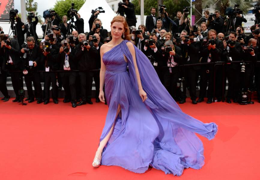 Jessica Chastain en Elie Saab Couture