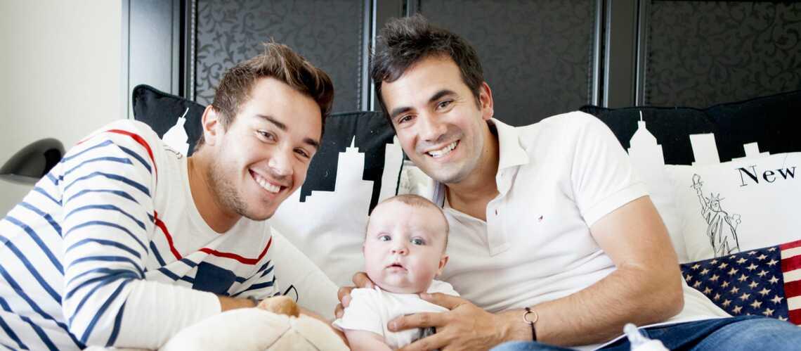 Exclu Gala – Alex Goude: «Avec Romain, on aimerait un second enfant»