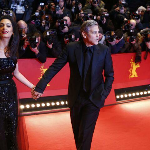 George et Amal Clooney, militants anti-Trump