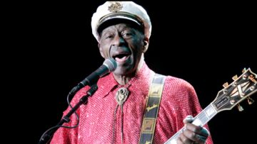 Chuck Berry, légende du rock'n'roll, est mort