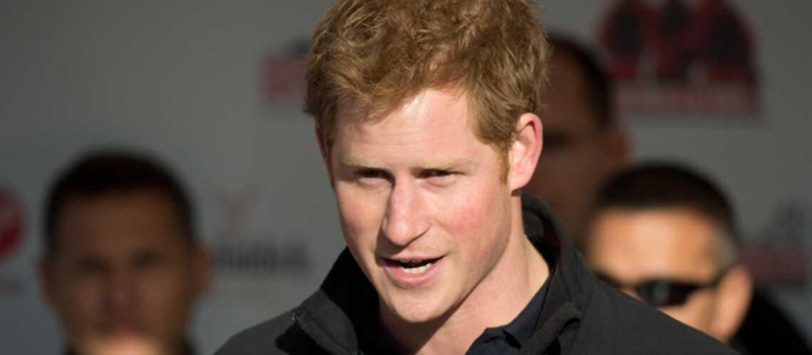 Le prince Harry coincé en Afrique du Sud