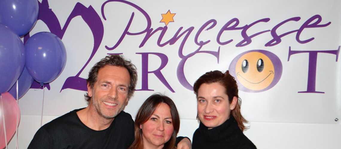 Emmanuelle Devos et Stéphane Freiss unis contre le cancer des enfants