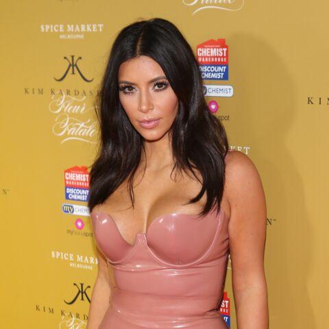 Kim Kardashian assume le nu