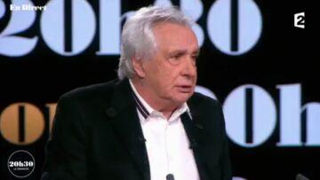 VIDEO – Le message émouvant de Michel Sardou pour Johnny Hallyday: «il a un sacré courage»