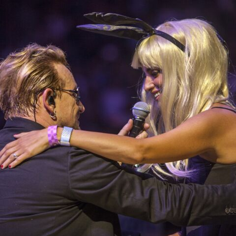 Penélope Cruz et Javier Bardem: fans hystériques de U2