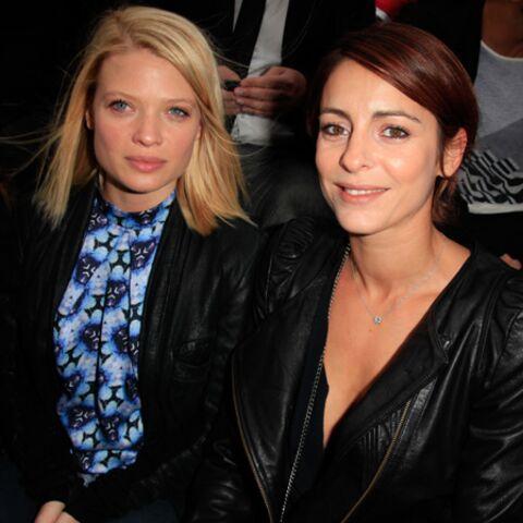 Photos- Mélanie Thierry et Audrey Dana sur le plus grand front row du monde