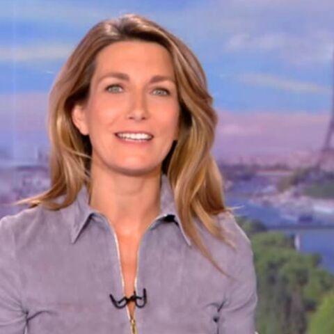 Anne-Claire Coudray: son premier JT dans la peau de la n°1