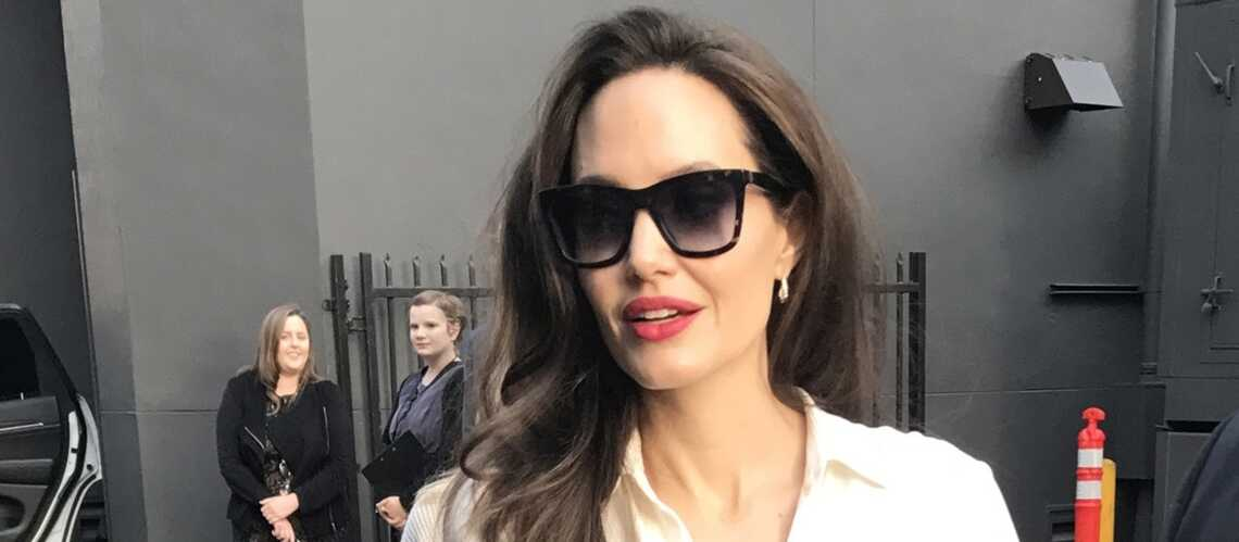 PHOTOS – Angelina Jolie ultra mince: les photos qui inquiètent ses fans