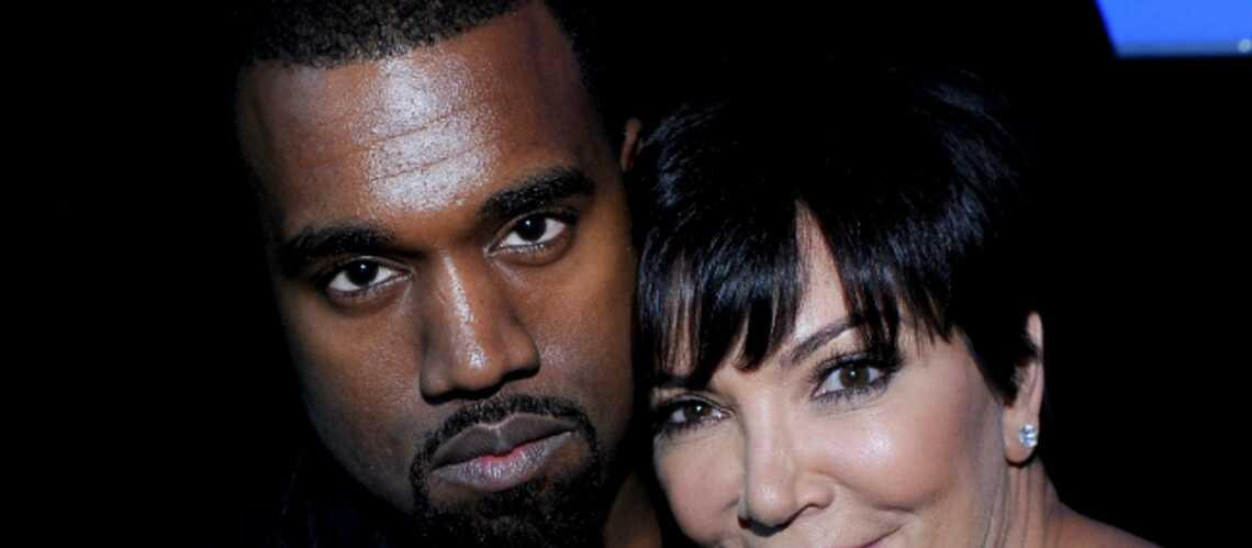 Kanye West reçu par la mère de Kim Kardashian
