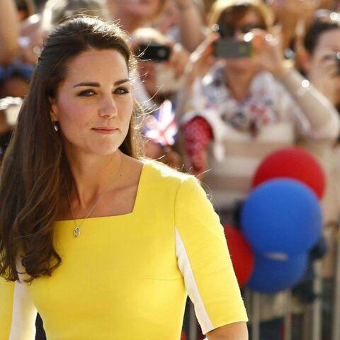 Princesse Kate voit double