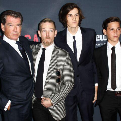 Photos – Pierce Brosnan présente ses fils