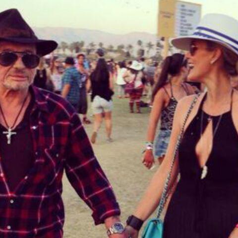 Photos- Laeticia et Johnny Hallyday s'éclatent au Festival de Coachella