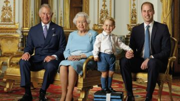 Photo- Prince George plus star que sa grand-mère