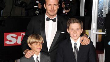 beckham and kids