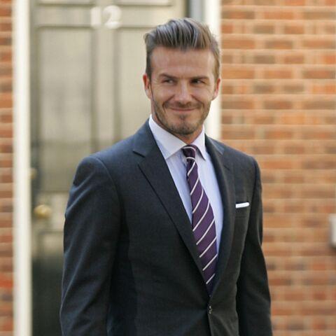 David Beckham, des pyjamas pour Victoria