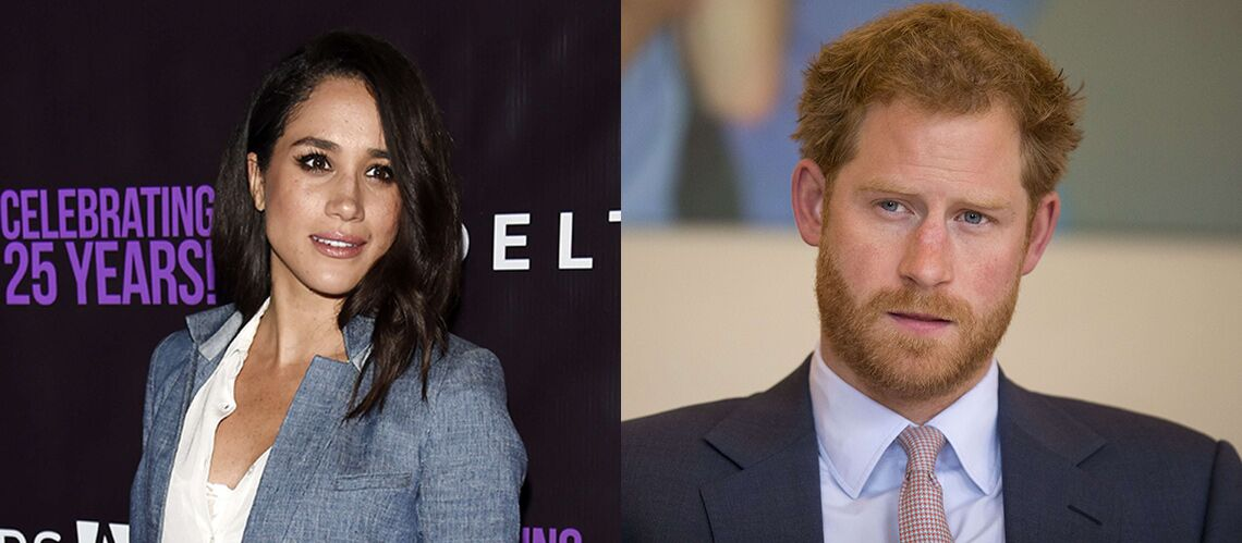 Prince Harry joue les princes char­mants et escorte Meghan Markle à l'aé­ro­port