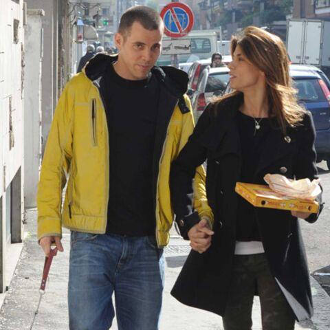 Elisabetta Canalis et Steve-O: week-end à Rome