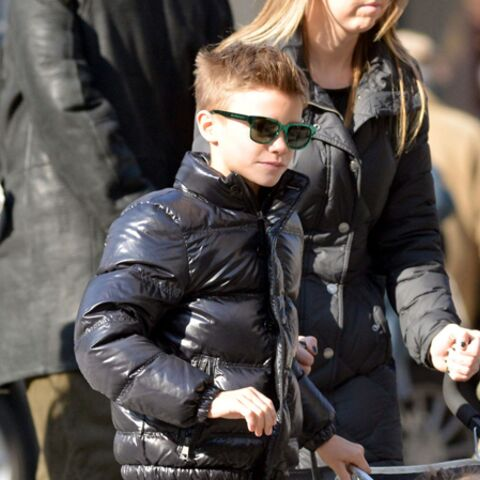 Photos – Romeo Beckham, trendy à Paris