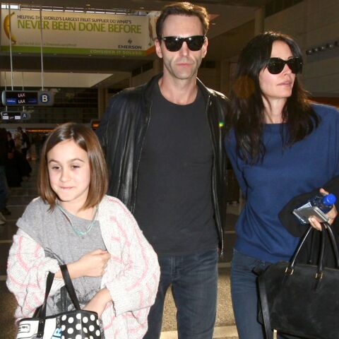 Courteney Cox amoureuse en Italie