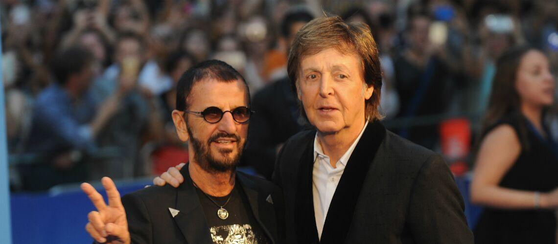 Paul McCartney et Ringo Starr réunis en studio