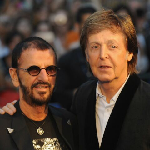 Paul McCartney et Ringo Starr réunis en studio