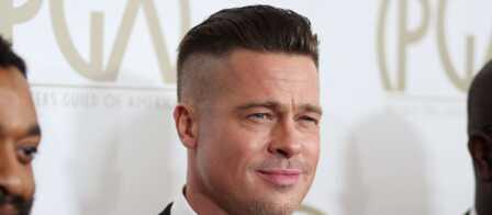 Brad Pitt Bien Rase Sur Les Cotes Gala