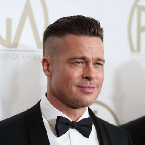 Brad Pitt, bien rasé sur les côtés