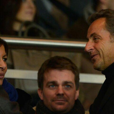 NKM, Anne Hidalgo, Nicolas Sarkozy supporters du PSG