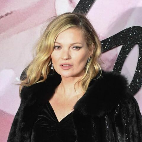 PHOTOS – Kate Moss, sa collection mode hommage à David Bowie
