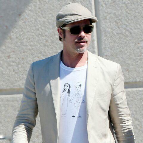 Brad Pitt égérie chérie de sa petite Vivienne