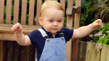 Photos- Le prince George en Petit Bateau pour son portrait officiel