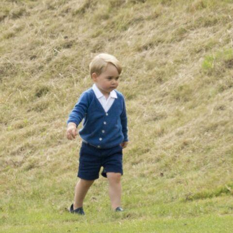 Le prince George, harcelé par les paparazzis