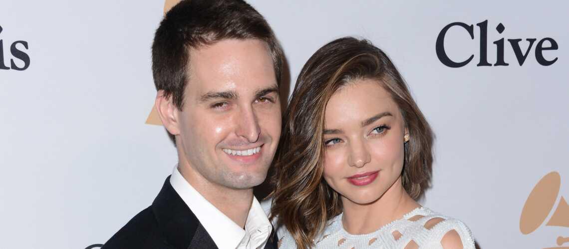 Miranda Kerr s'est fiancée à Evan Spiegel, le créateur de Snapchat