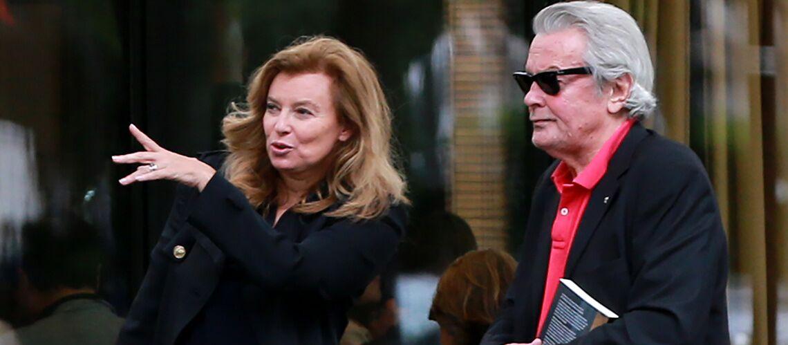 Alain Delon et Valérie Trierweiler, une tendre amitié