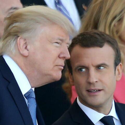 L'étrange petite phrase de Donald Trump sur Emmanuel Macron