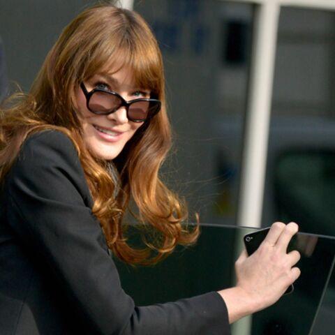 Carla Bruni, lucide sur ses talents d'actrice