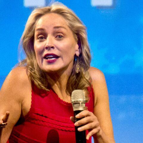 Photos- Sharon Stone sa rencontre avec un fan à l'instinct basique