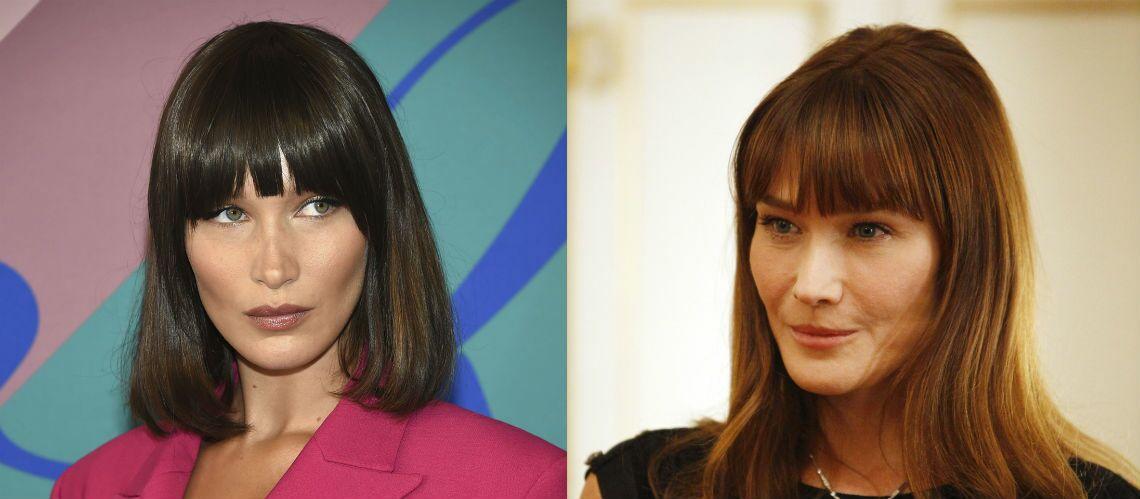 PHOTOS – Bella Hadid et Carla Bruni: une troublante ressemblance