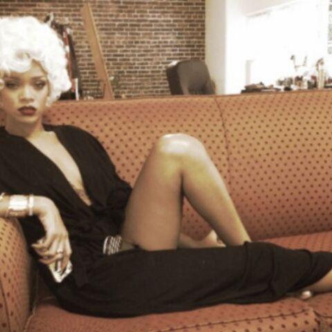 Rihanna: les hommes préfèrent les blondes